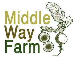 Table middle way farm logo